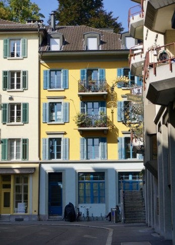 Buildings in Old Town Lucerne