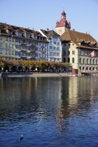 Old Town Lucerne Switzerland
