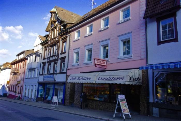 Triberg Germany, Cafe Schafer