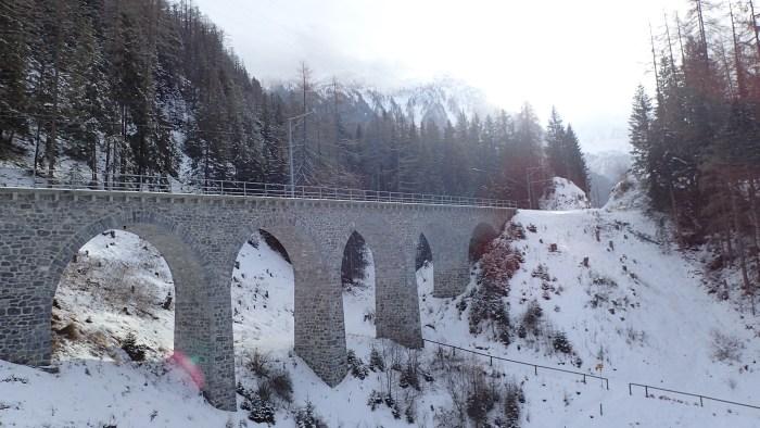 Albula Train Line