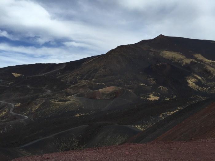 Climbing Mt Etna