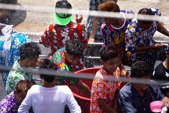 Splashed on Songkran