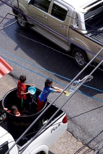 Children at Songkran Phuket