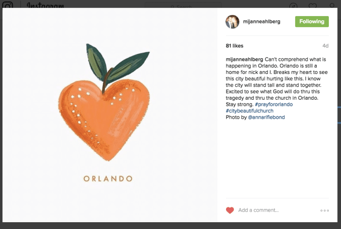 Love Orlando from Afar