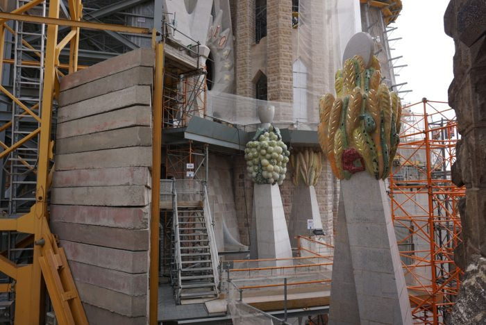 Sagrada Familia Construction