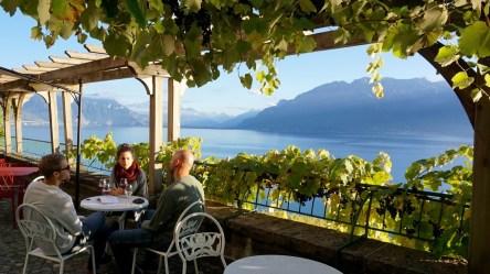 Lavaux Wine Region of Switzerland