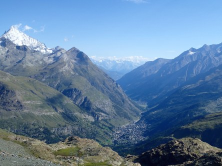 Zermatt from Trockener Stegg