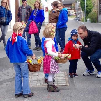 Children at Swiss Festival