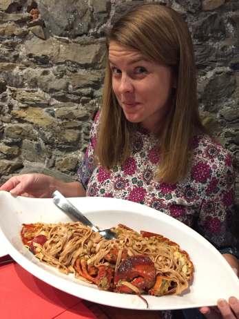 Dining in Cinque Terre Trattoria de Billy