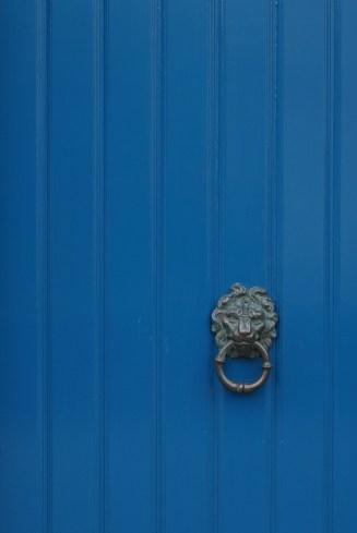 Bruges Belgium Blue Door