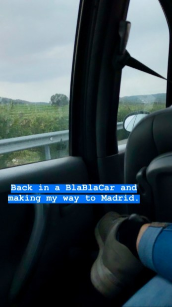 BlaBlaCar to Madrid 2