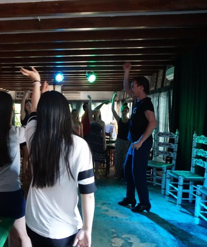 Dance Lessons at Jardines de Zoraya Fran