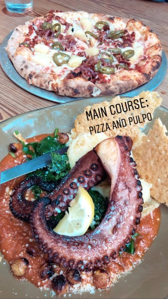 NSB Third Wave Pizza and Pulpo
