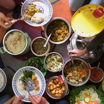 Nepal Dal Bhat Meal