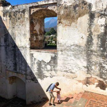 Vaggaro exploring Antigua