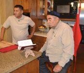 Bahtiyor and Urinbay in the Kitchen