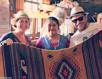 Helping the village women of Oaxaca