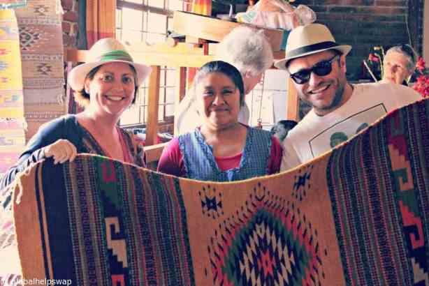 Helping the village women of Oaxaca
