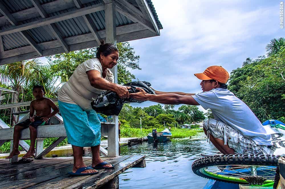 Visiting An Arawak Community In Guyana  South America