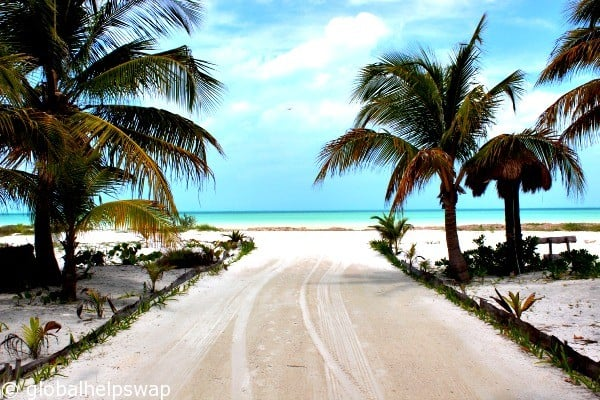 how to get to isla holbox