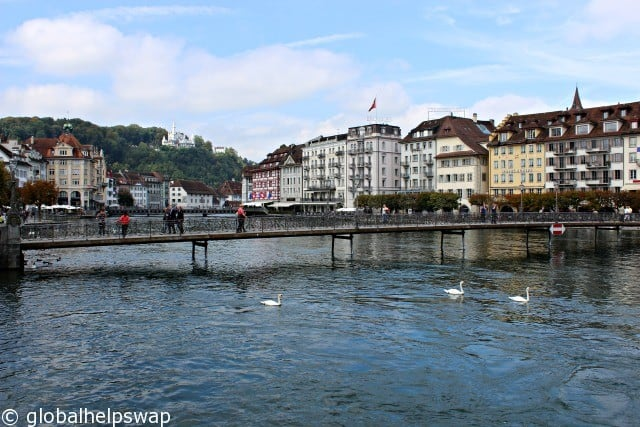 Places to visit in Switzerland by train