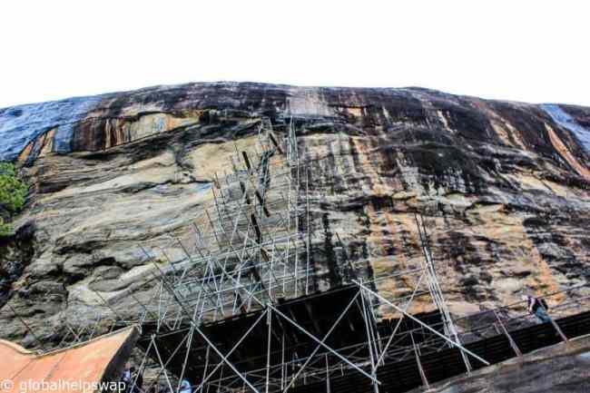 Sigiriya Rock Fortress Climb, Sri Lanka