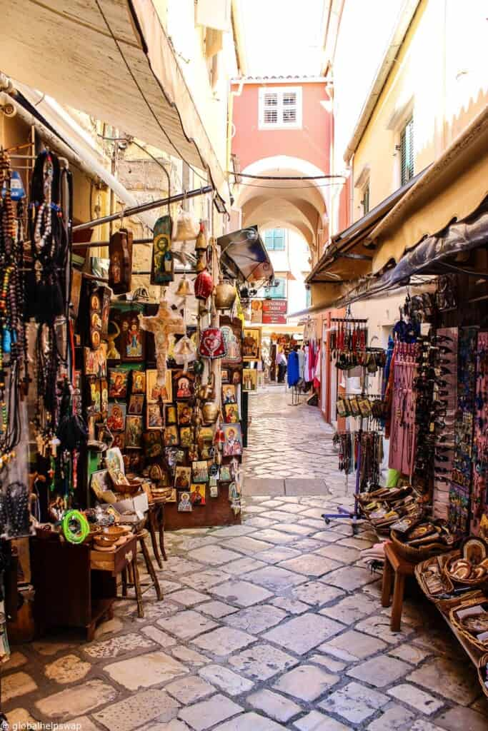 A day in Corfu Town