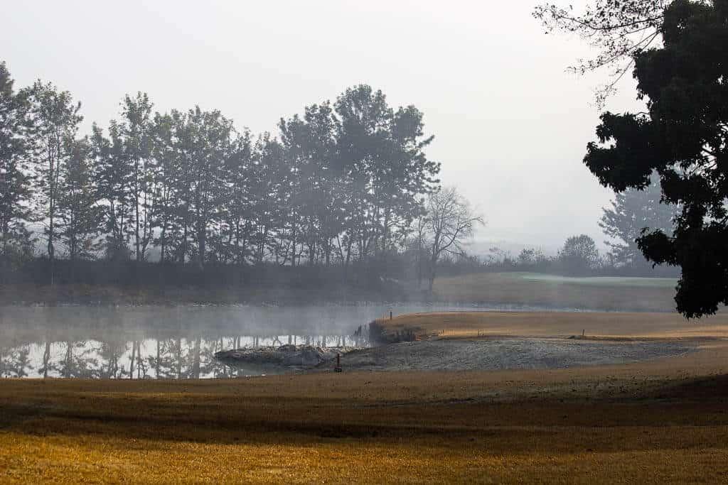 The views at Gokarna Forest Resort Kathmandu
