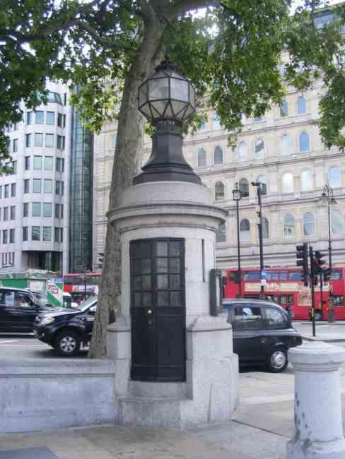 Britain's Smallest Police Station, Trafalgar Square
