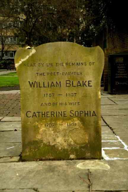 The Literary Graves at Bunhill Fields, EC1