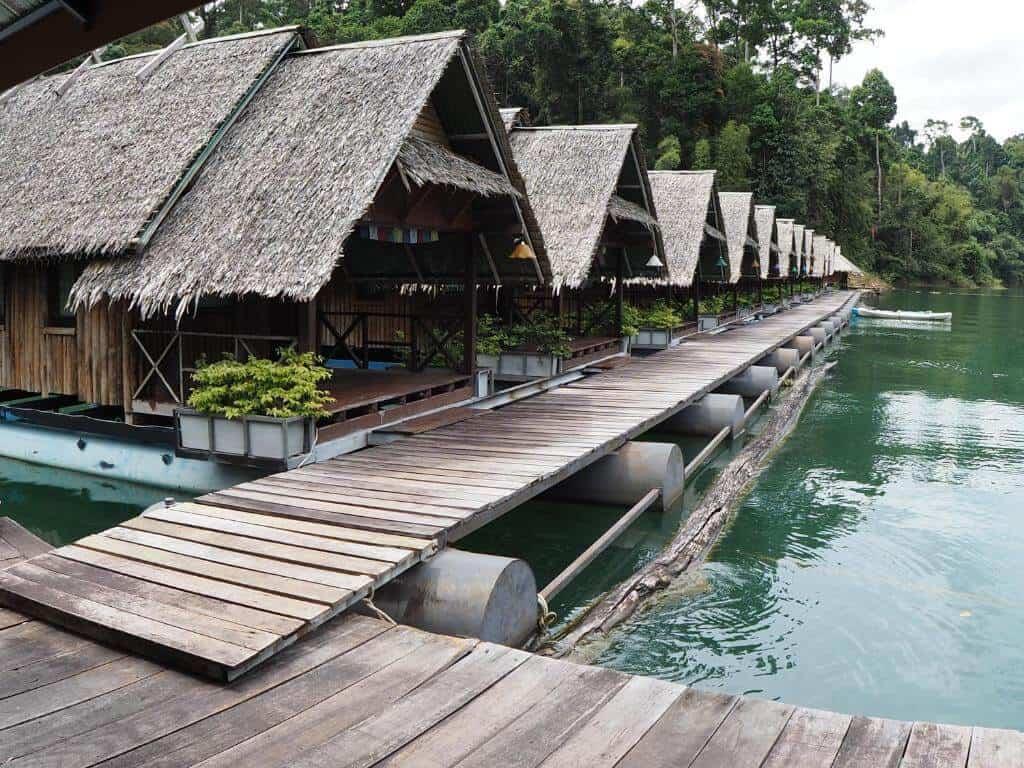 Praiwan Raft House Khao Sok Park, Thailand