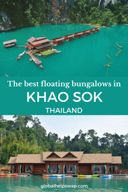 The best Khao Sok Floating Bungalows on the lake. If you are heading to Cheow Lan Lake you will want to stay on a floating bungalow. Check out this list before booking. Make sure you trek, kayak and observe the wildlife in Khao Sok National Park, Thailand.