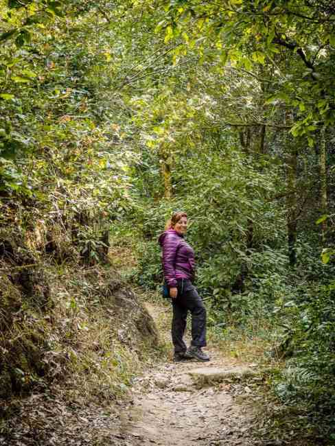 Hiking in Nagarkot, Nepal