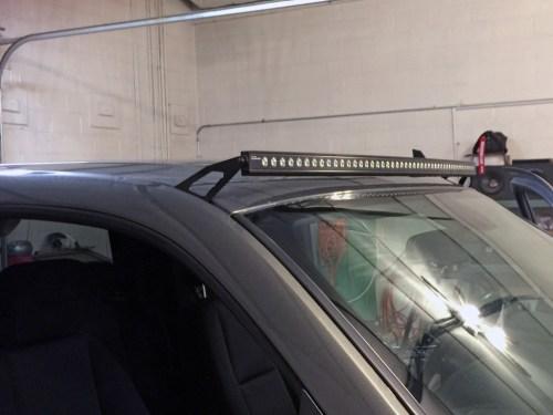 small resolution of led light bar wiring harnes install