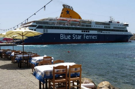 Athens: Scam Blue Star Ferries