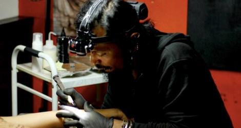 I Got a Hand Poke Tattoo in Bali