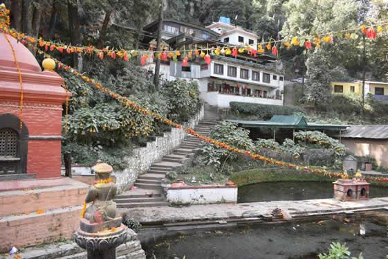 Temple garden Pharping