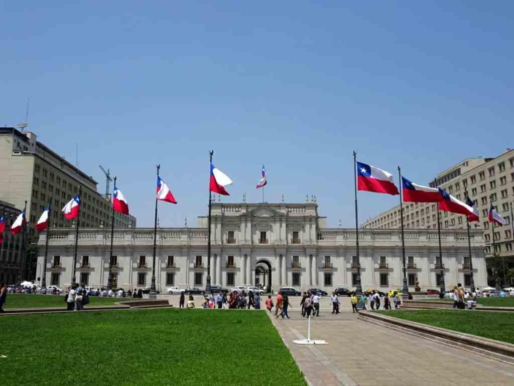 Palacio de Moneda - Santiago de Chile