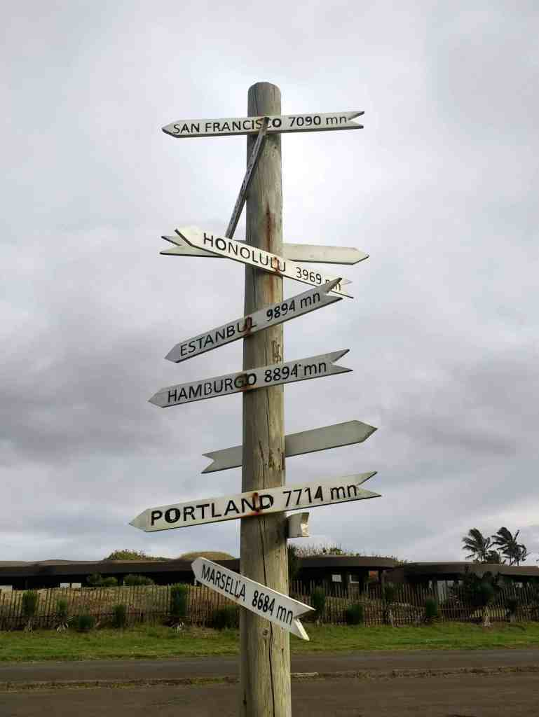 Easter Island Signpost
