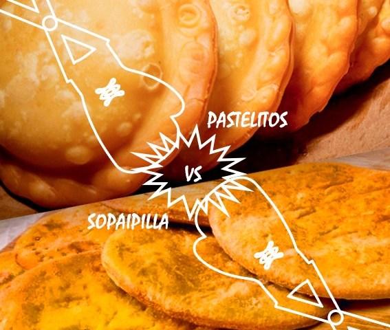 Sopaipillas Vs Pastelitos venezolanos