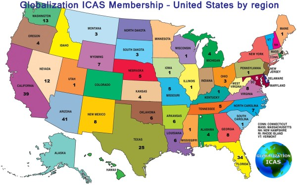 Directory of membership United States Globalization ICAS