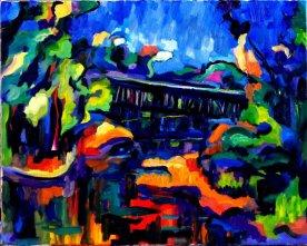 Artist: Peter Filzmaier Title: Along the bridge