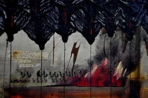 Artist: Lloyd Knowles Title: Black Angels 2