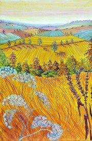 Artist: Heather Bell Tilte; Fields of Gold