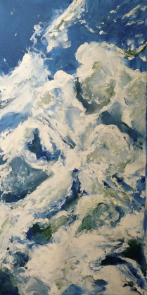 "Artist: Laara Williamsen Title: Element 7 AIR Size: 18"" x 36"""