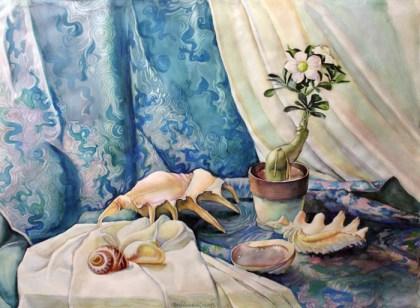 Artist: Olga Pasechnikova Title: Desert Rose