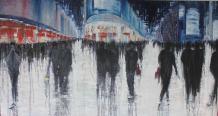Artist: Lesley Oldaker Title: Shop till you drop