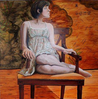 Artist: Martha de-Cunha-Maluf-Burgman Title: Beauty