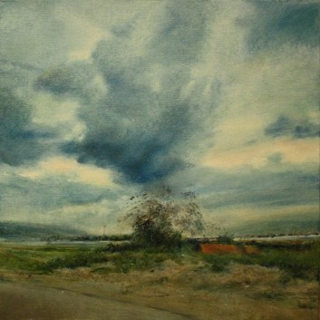 Artist: Vered Terry Title: SECOND RIDE IN THE JORDAN VALLEY