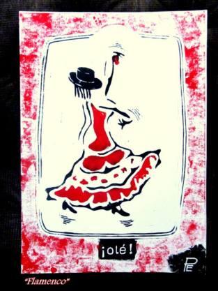 Artist: Edgar Plaute Title:Flamenco Image 1